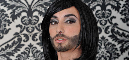 Conchita Wurst interviewed by INFE Azerbaijan