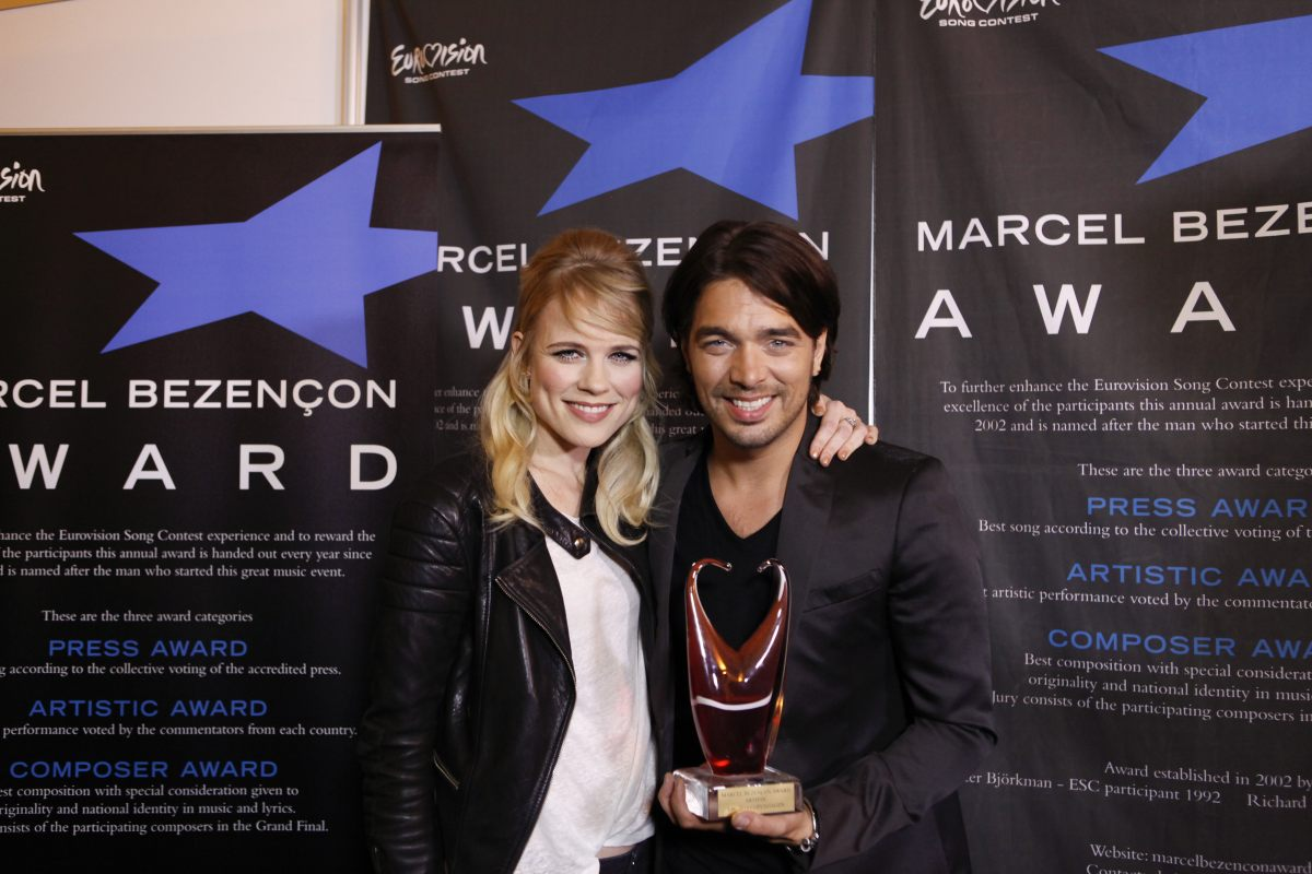 Marcel Bezançon Awards for Conchita Wurst & The Common Linnets