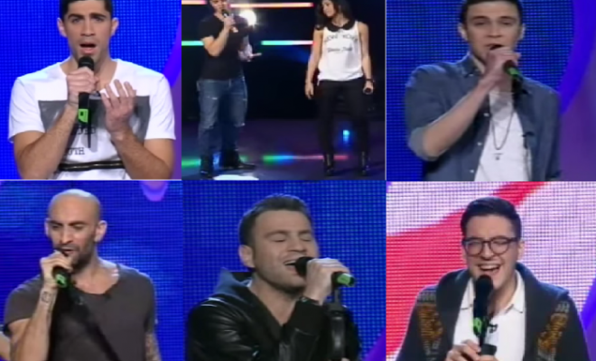 Cyprus:  The Final Six acts for Eurovision Song Project