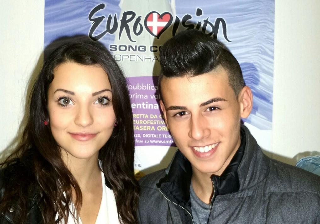 "San Marino:  Michele & Anita will sing ""Chain of light"" in Vienna."