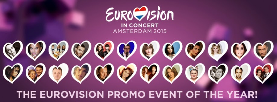 Eurovision in Concert 2015: Live Performances of Cyprus, Germany, Albania, Norway, France