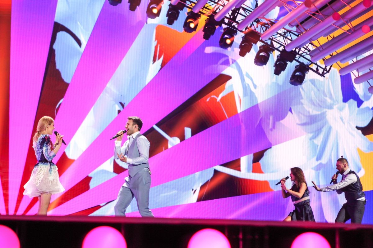 Lithuania's second rehearsal