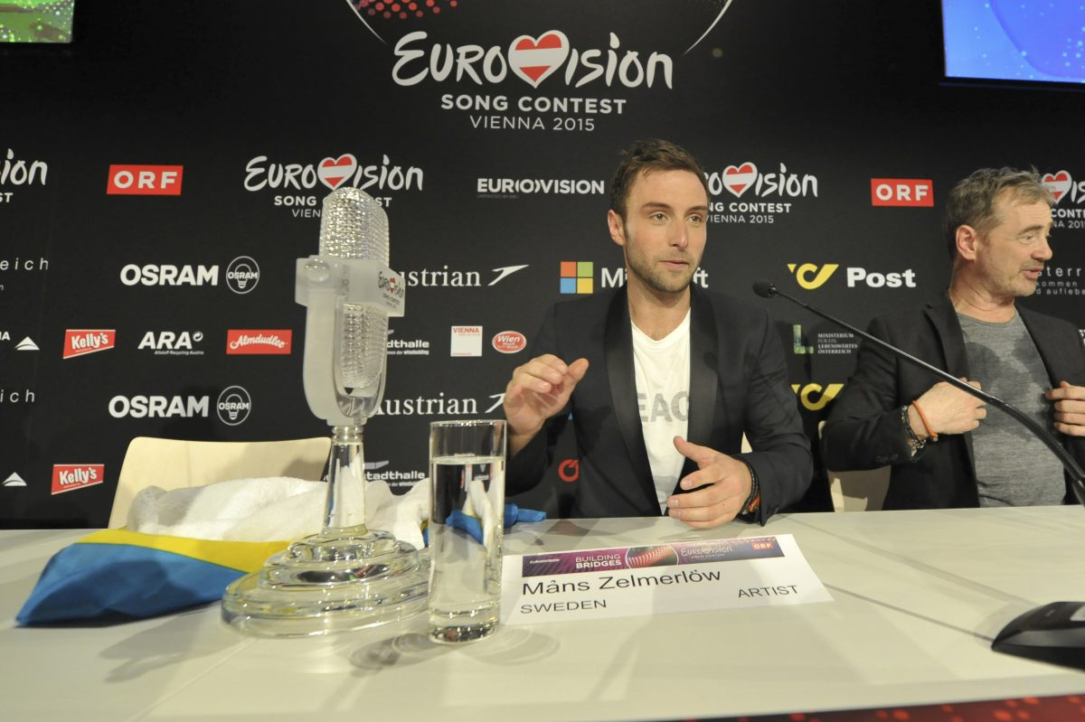 Eurovision 2015: The winner's press conference.