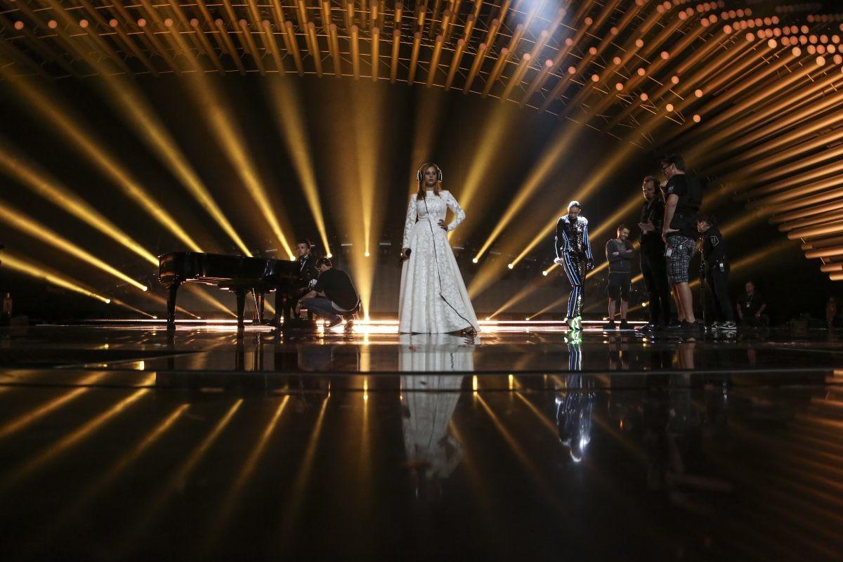Slovenia's second rehearsal