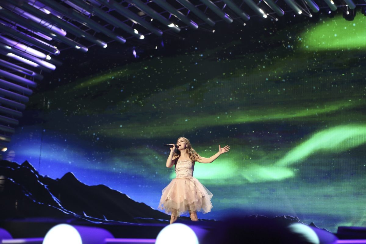 Iceland's second rehearsal