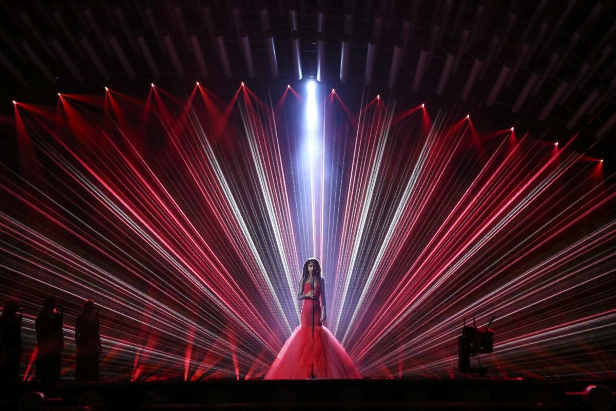 Latvia's second rehearsal