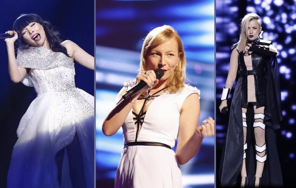 2nd Rehearsal: Australia, Slovenia, Bulgaria