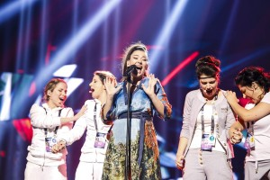 Serbia's first rehearsal