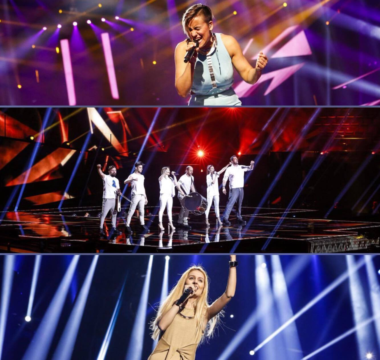 2nd Rehearsal : Finland – Greece – Moldova