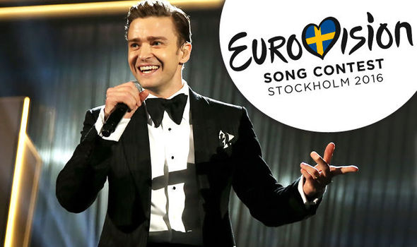 Justin Timberlake is about to make Eurovision history