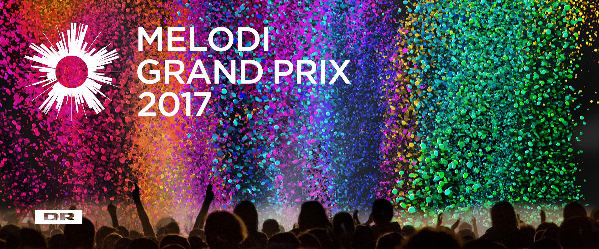 Denmark 2017: 10 Finalists for DANSK MELODI GRAND PRIX 2017