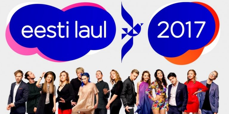 Estonia: The first five finalists of Eesti Laul 2017.