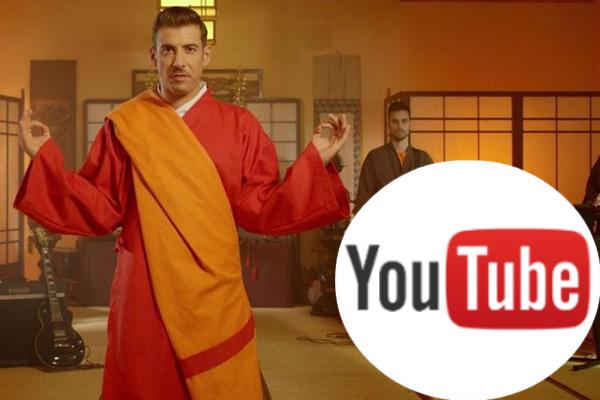 Italy 2017: Francesco's video of «Occidentali's Karma» hits over 100 million YouTube Views.