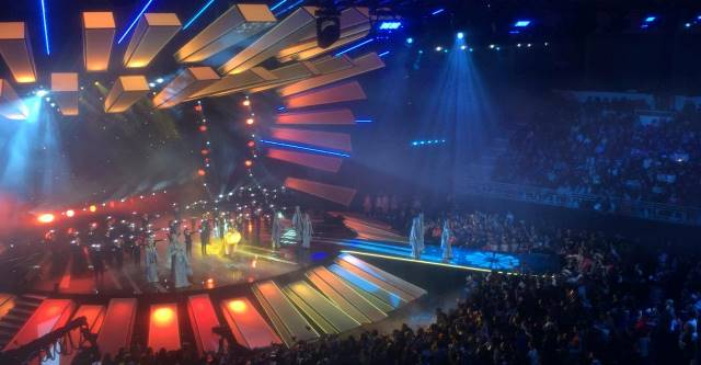 Junior Eurovision 2017 : Live Now from The Olympic Palace in Tbilisi City .