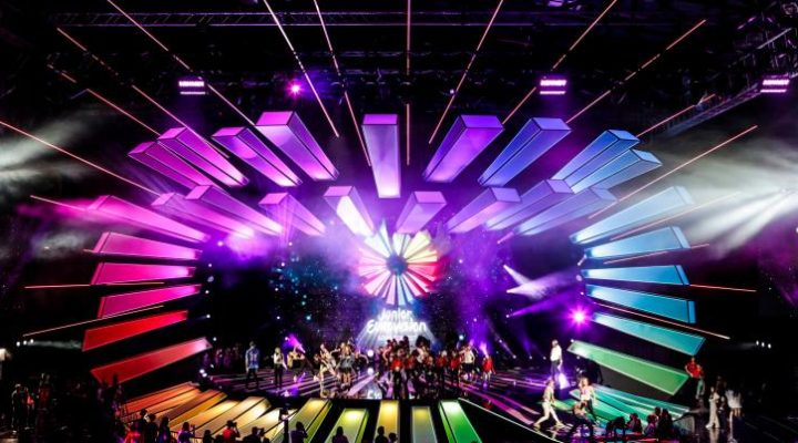Junior Eurovision 2017: Dress rehearsal Day while Public Online Voting is running.