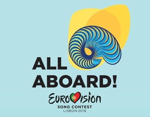 "Eurovision 2018: 42 countries to compete; ""All Aboard "" the next slogan and a shell for the logo."