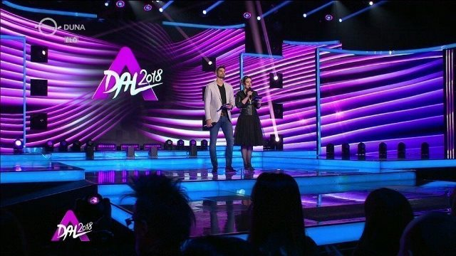 "Hungary: Tonight the 2nd qualifying round of ""A Dal 2018""."