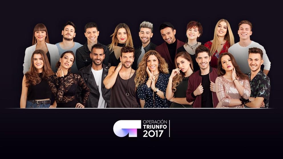 Spain: The first 4 finalists of Operacion Triunfo's Eurovision Gala.