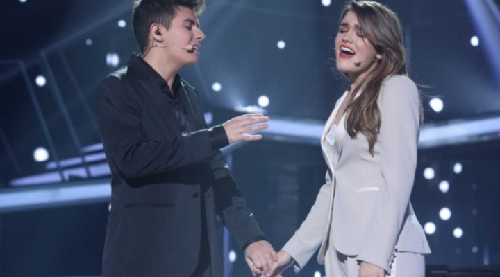 "Spain: Alfred & Amaia win Eurovision Gala and will fly to Lisbon with their song ""Tu cancion""."