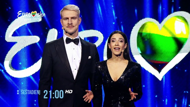 Lithuania: Tonight the third heat of Eurovizijos 2018.