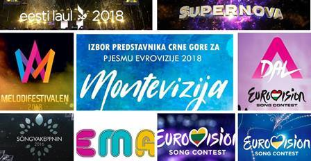 Eurovision 2018: Tonight 9 National Selection shows across Europe