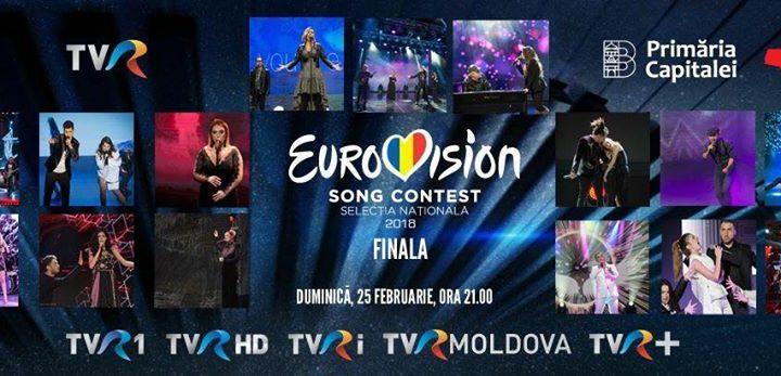 """Romania: Tonight the final of """"Selecția Națională 2018"""""""