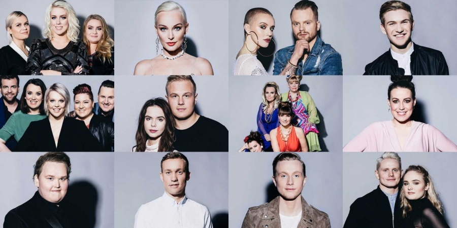 Iceland : The results of the second semifinal of Söngvakeppnin 2018