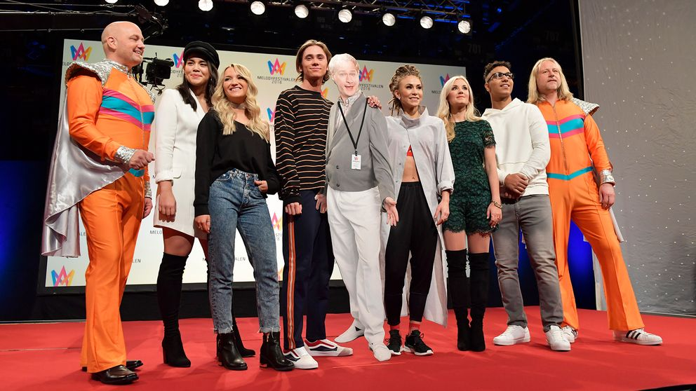 Sweden: Melodifestivalen 2018-Listen to the 4th semifinal songs snippets