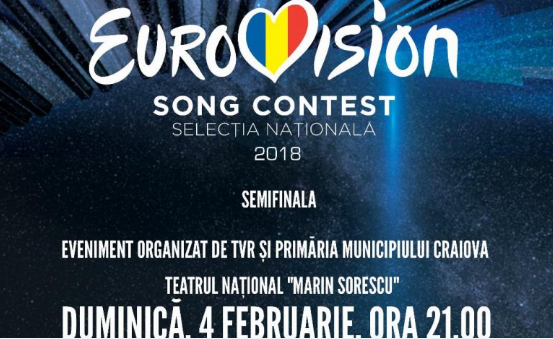 Romania: Tonight the 3rd semi-final round of «Selecția Națională 2018»