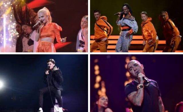 Sweden: Melodifestivalen 2018 Second Chance Semi final results.