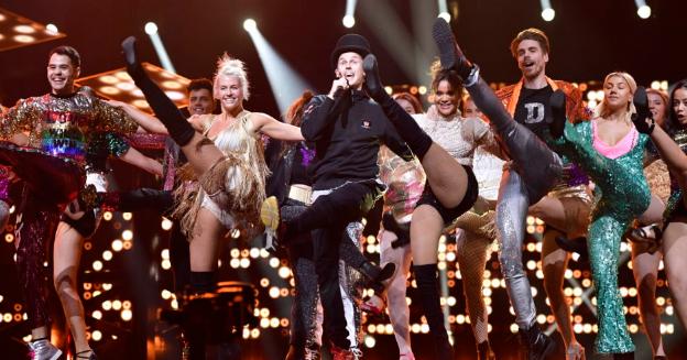 "Sweden: Tonight,the grand Final of ""Melodifestivalen 2018"""
