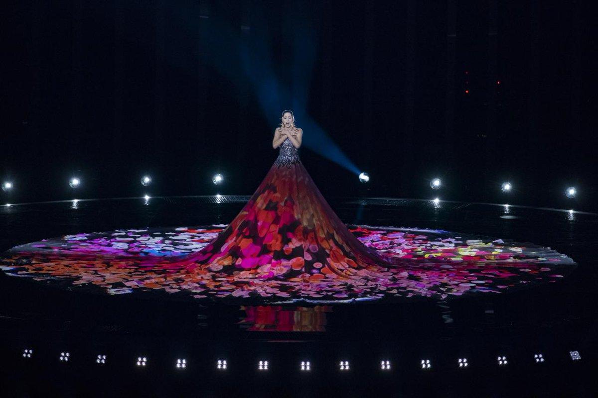 Estonia 2018: Elina's first rehearsal