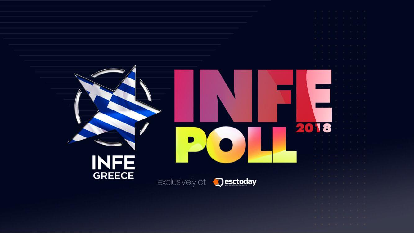 Eurovision INFE Poll 2018 : It's time for INFE Greece to cast its votes!