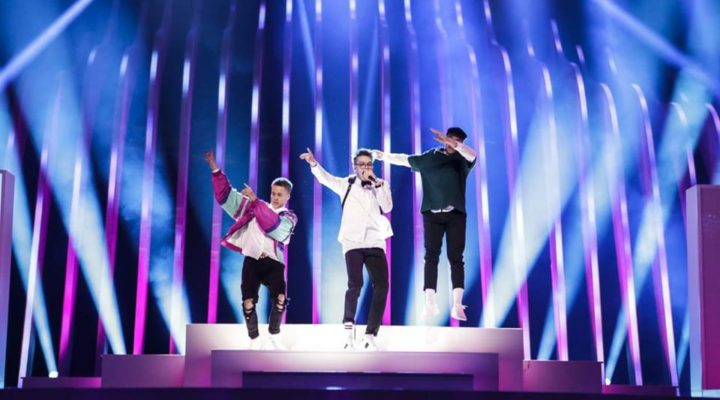 Czech Republic 2018: First technical rehearsal for Mikolas Josef