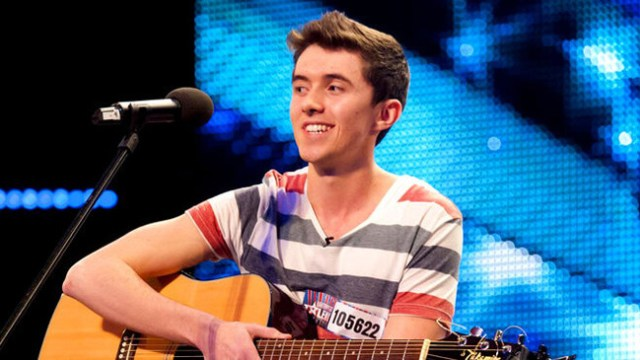 Ireland 2018: Ryan O'Shaughnessy on stage to rehearse