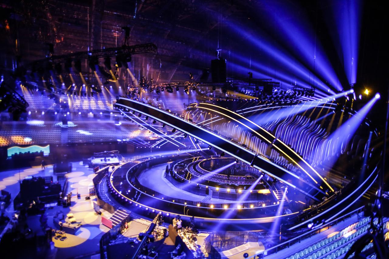 Eurovision 2018: Altice Arena is ready to go- exclusive photos by EBU