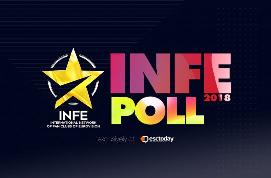 Eurovision INFE POLL 2018: INFE Italy reveils its votes for our poll