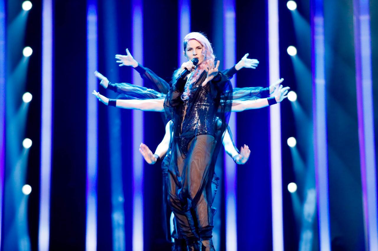 Slovenia 2018: Lea's first rehearsal!