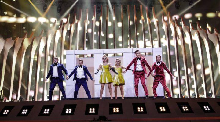 Moldova 2018: DoReDos rehearse for second time