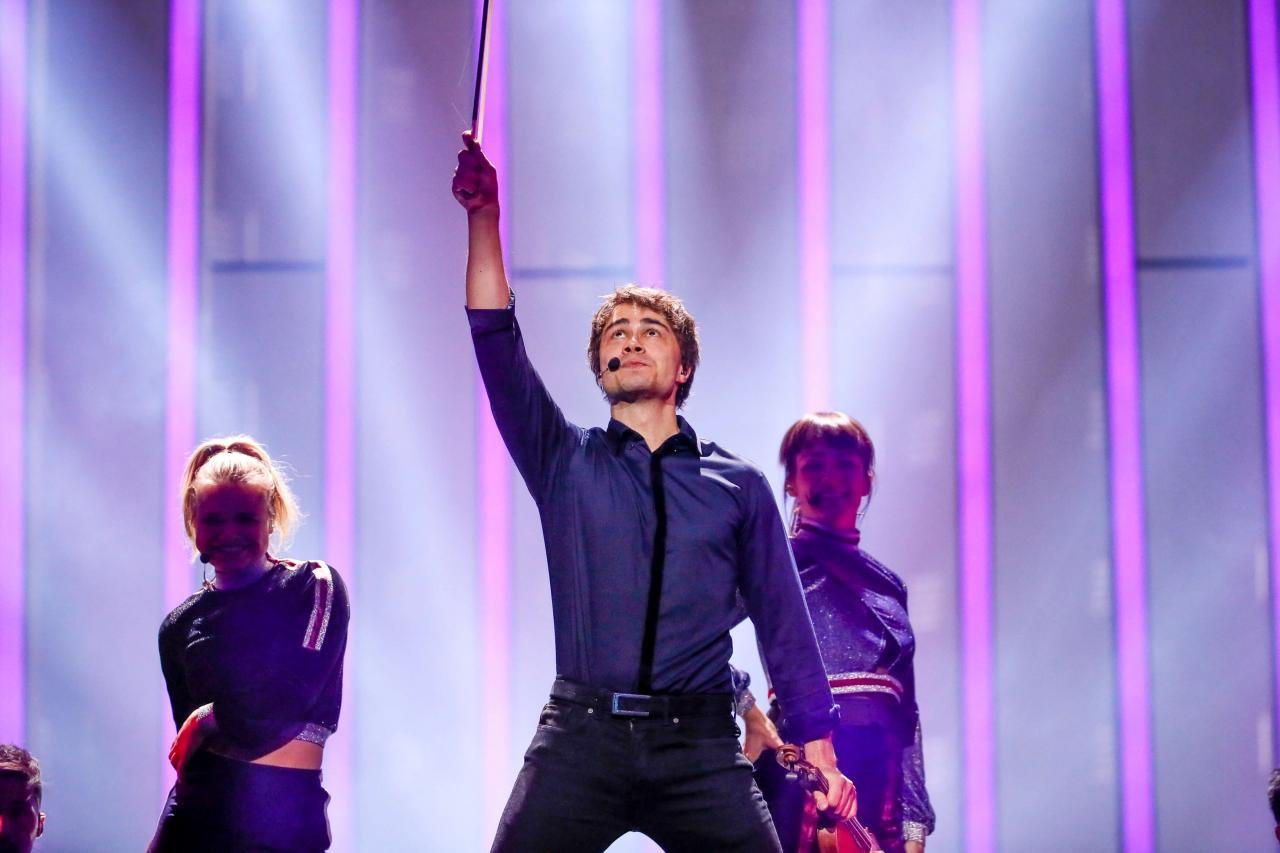 Norway 2018: Second Technical Rehearsal for Rybak
