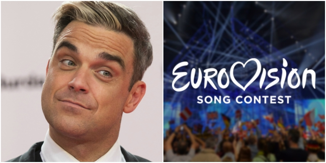 United Kingdom: Robbie Williams wishes to compete in Eurovision