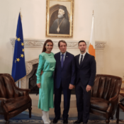 Cyprus: President of the Republic N. Anastasiadis thanked Eleni Foureira and Alex Papakonstantinou