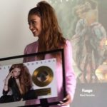 "Eleni Foureira's ""Fuego"" goes gold in Spain"