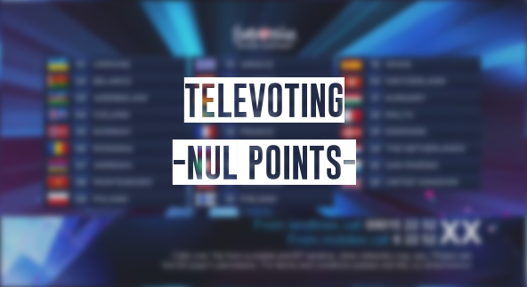 "INFE Tribute: Which participating countries finished with ""nul points"" in ESC televoting"