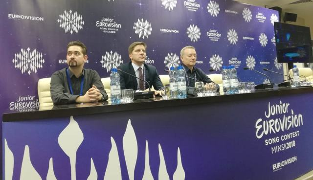 "JESC 2018 EBU Press Conference: Jon Ola Sand: ""We might see new countries participating in future Eurovision Song Contests"""