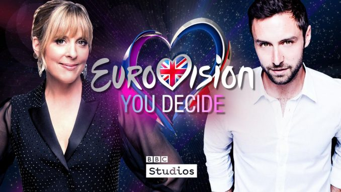 "United Kingdom: Changes to national final ""Eurovision:You Decide"" framework; Mel Giedroyc and Måns Zelmerlöw hosts of the show"