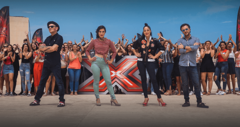 Malta: 120 candidates for X-factor's bootcamp