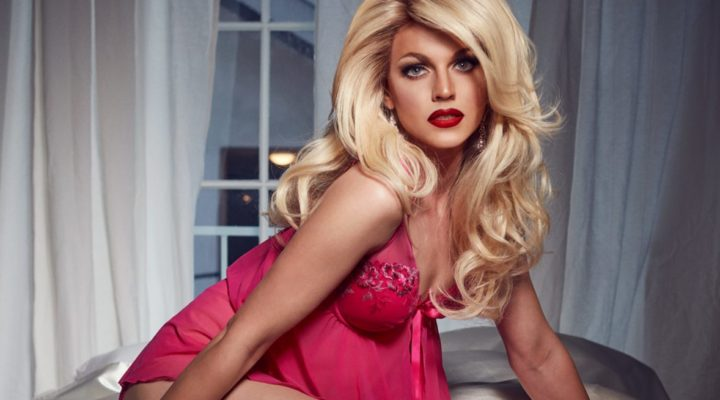"Australia: Courtney Act releases her national final entry ""Fight for love"""
