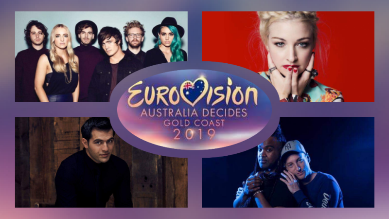 "Australia: SBS reveals first four competing acts of national final ""Eurovision: Australia Decides"""