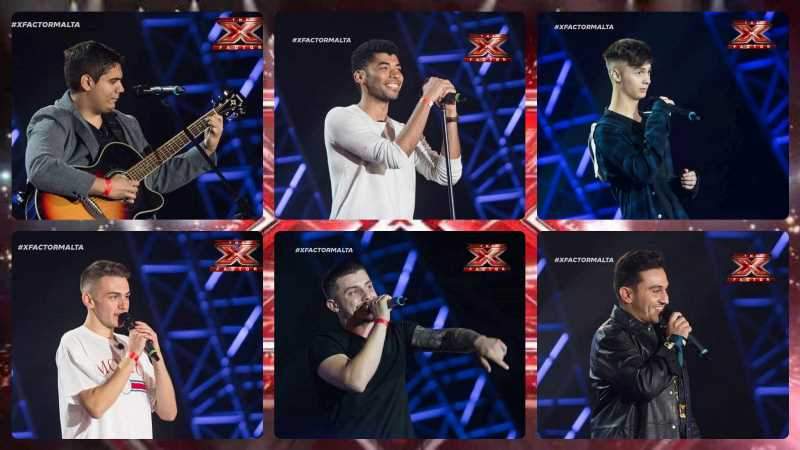 Malta: The 6 boys who qualified to Judges' Houses round of X-factor Malta